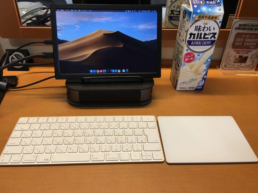 Mac mini起動時