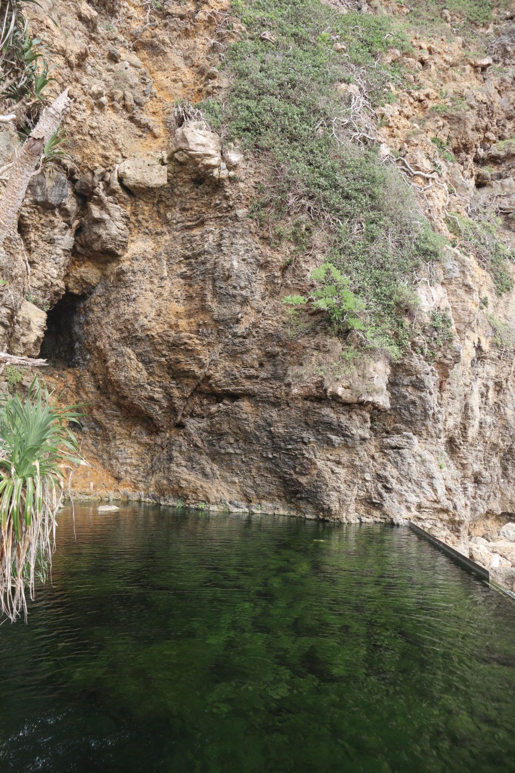 ムイガー断崖絶壁